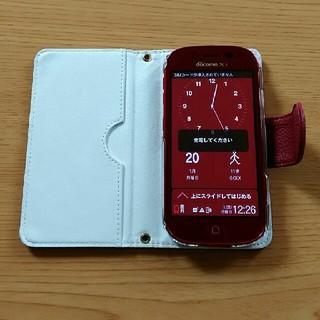 エヌティティドコモ(NTTdocomo)のドコモ らくらくスマートフォン3 中古(スマートフォン本体)