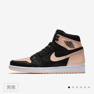 NIKE - nike air jordan 1 og black pink crimson