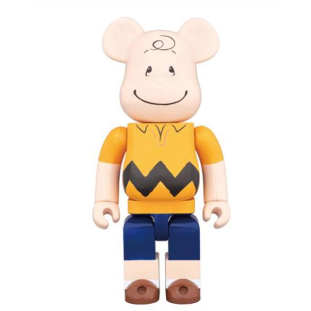 MEDICOM TOY(メディコムトイ)の CHARLIE BROWN 1000%未開封 ベアブリック  エンタメ/ホビーのおもちゃ/ぬいぐるみ(キャラクターグッズ)の商品写真