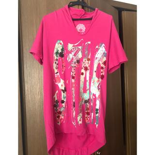 スカラー(ScoLar)のスカラープルオーバー  ピンク(Tシャツ(半袖/袖なし))