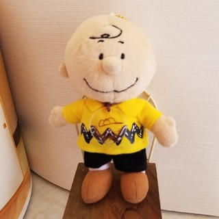 チャーリー.ブラウンパペットぬいぐるみ(キャラクターグッズ)
