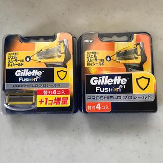 ジレ(gilet)のジレット フュージョン プロシールド 替刃合計9個(日用品/生活雑貨)