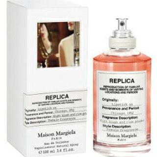 マルタンマルジェラ(Maison Martin Margiela)の新品未使用 メゾンマルジェラ レプリカ オードトワレ リップスティック オン(香水(女性用))