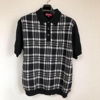 シュプリーム(Supreme)の【18SS】Supreme Plaid Knit Polo(ポロシャツ)