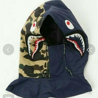 アベイシングエイプ(A BATHING APE)の定価16200円 bape shark face mask(その他)
