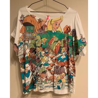 アチャチュムムチャチャ(AHCAHCUM.muchacha)のあちゃちゅむ ムチャチャ ディズニー 不思議の国のアリス Tシャツ コラボ(Tシャツ(半袖/袖なし))