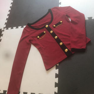 アビラピンク(AVIRA PINK)の春物服(カーディガン)