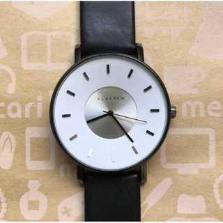 新品未使用☆KLASSE14☆クラス14☆42m☆ホワイトシルバー☆腕時計(腕時計)