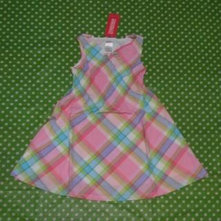 ジンボリー(GYMBOREE)の新品 ジンボリー GYMBOREE マドラスチェック ワンピース ドレス(ワンピース)