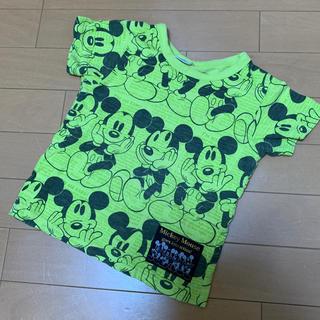 ブリーズ(BREEZE)のBREEZE  100cm ミッキー柄 半袖Tシャツ(Tシャツ/カットソー)