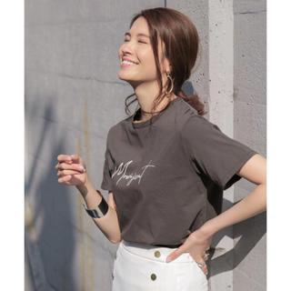バビロン(BABYLONE)のMICA&DEAL プリントTシャツ  (カットソー(半袖/袖なし))