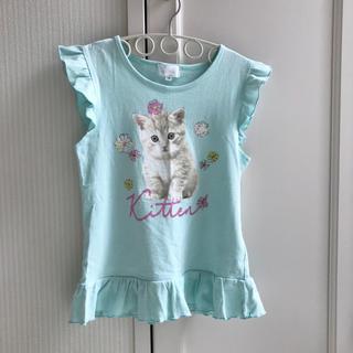 マザウェイズ(motherways)のマザウェイズ 半袖カットソー 女の子 140cm ミントグリーン(Tシャツ/カットソー)