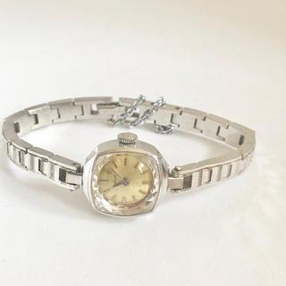 アンティークウォッチ BUREN カットガラス とても小さなドレスウォッチ (腕時計)