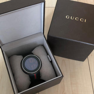 グッチ(Gucci)のGUCCI グッチ アイグッチ 腕時計(腕時計(デジタル))