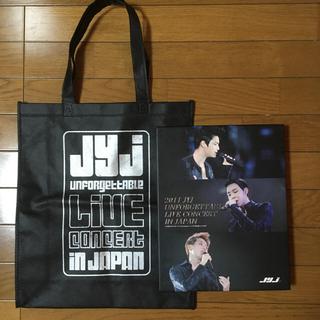 ジェイワイジェイ(JYJ)のJYJ UNFORGETTABLE LIVE  DVDとエコバッグ(K-POP/アジア)
