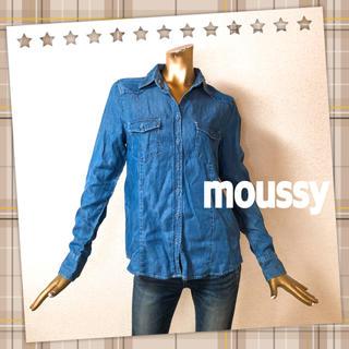 マウジー(moussy)のmoussy ★ シンプル デニムシャツ(シャツ/ブラウス(長袖/七分))
