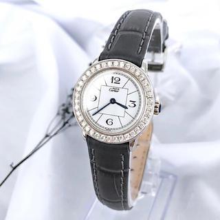 カルティエ(Cartier)の【仕上済/ベルト新品】カルティエ ロンド ダイヤ シルバー レディース 腕時計(腕時計)