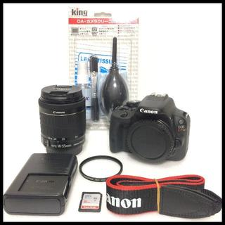 キヤノン(Canon)のシャッター数約500回 CANON EOS Kiss X7 おまけ付き(デジタル一眼)