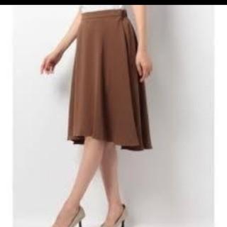 ガリャルダガランテ(GALLARDA GALANTE)のガリャルダガランテ ブラウンスカート フレアスカート スカート (ひざ丈スカート)