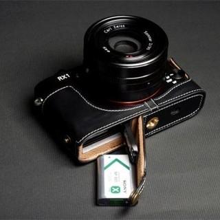 TP SONY RX1 RX1RM2用 本革カメラケース ブラック (コンパクトデジタルカメラ)