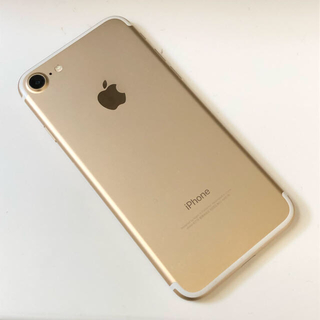 iPhone7 32GB ゴールド 本体 SIMロック解除済み(スマートフォン本体)