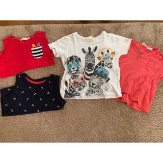 ユニクロ(UNIQLO)の男の子 洋服 まとめ売り6点 サイズ80(Tシャツ)