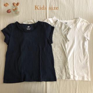 エイチアンドエム(H&M)のH&M♡キッズTシャツ3枚セット(Tシャツ/カットソー)