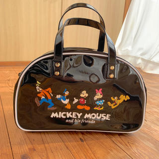 ディズニー(Disney)の未使用 ディズニー ボストンバッグ ミッキー(キャラクターグッズ)