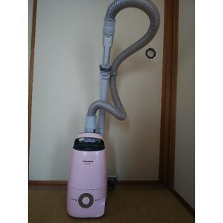 パナソニック(Panasonic)のラモス様専用 Panasonic 掃除機 軽量 静音 ピンク(掃除機)