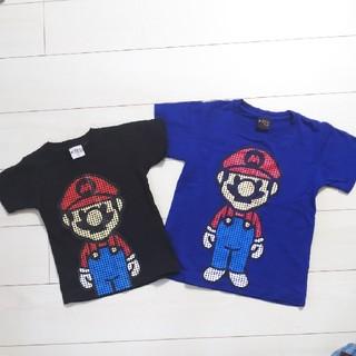 マリオ キッズTシャツ  2点セット(Tシャツ/カットソー)