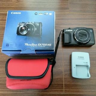 キヤノン(Canon)のキャノン PowerShot SX700 HS ブラック(コンパクトデジタルカメラ)