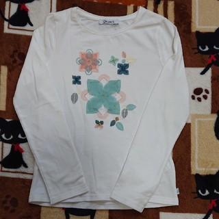 ホワイトカットソー(Tシャツ/カットソー)