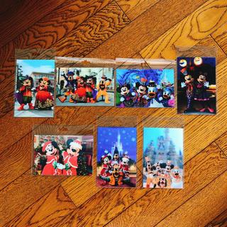 ディズニー(Disney)のディズニー ポストカード(キャラクターグッズ)