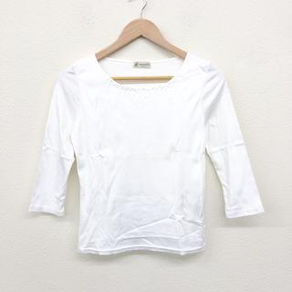 アリスバーリー(Aylesbury)の アリスバーリー Alyesbury カットソー 白 ホワイト M コットン (Tシャツ(長袖/七分))