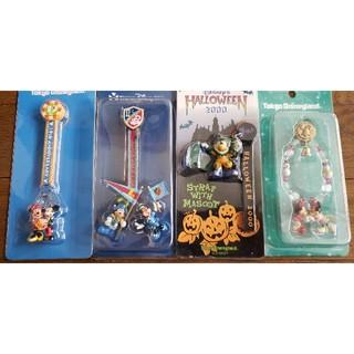 ディズニー(Disney)の東京ディズニーリゾート ストラップ 4種類(キャラクターグッズ)