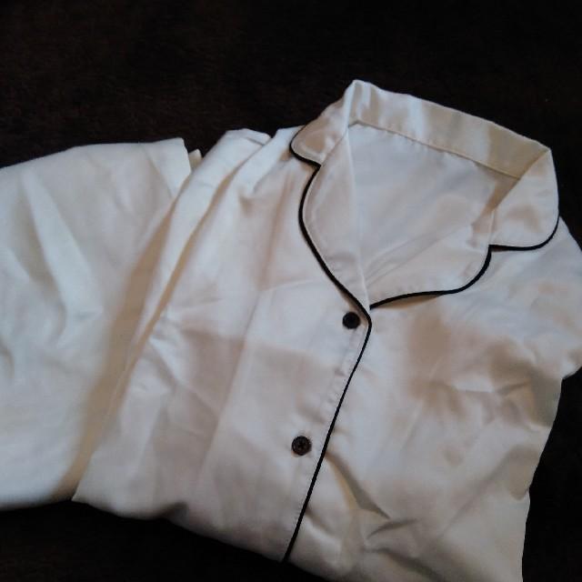 GU(ジーユー)の未使用 ホワイト GU パジャマ レディースのルームウェア/パジャマ(パジャマ)の商品写真