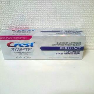 クレスト(Crest)のクレスト 3Dホワイト ブリリアンス 116g(歯磨き粉)