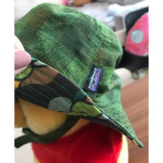 パタゴニア(patagonia)のパタゴニア リバーシブルベビーハット(帽子)