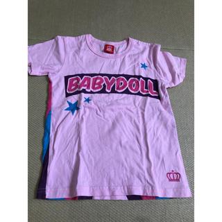 ベビードール(BABYDOLL)のBABYDOLL ピンク Tシャツ 130(Tシャツ/カットソー)