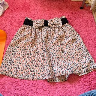 ハニーバンチ(Honey Bunch)の♡Honey Bunch ウエストリボン付き フレアスカート♡(ひざ丈スカート)