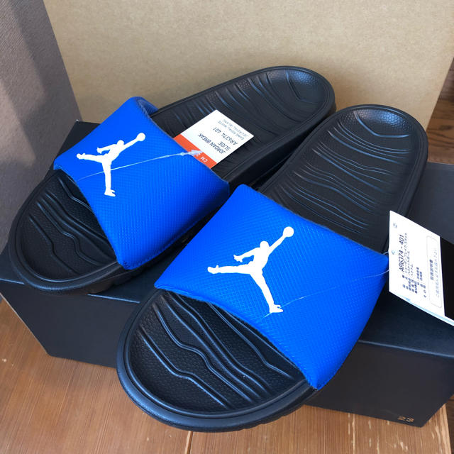 the best attitude c0855 bc9b0 NIKE(ナイキ)のNIKE JORDAN ナイキ ジョーダン ブレイク スライド サンダル メンズの靴