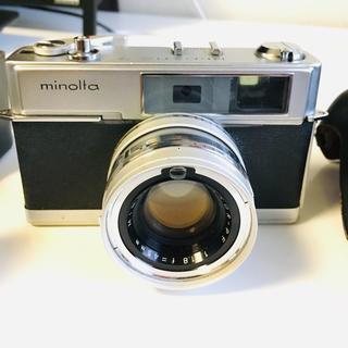 コニカミノルタ(KONICA MINOLTA)の【ジャンク品】minolta HI-MATIC7 フィルムカメラ(フィルムカメラ)