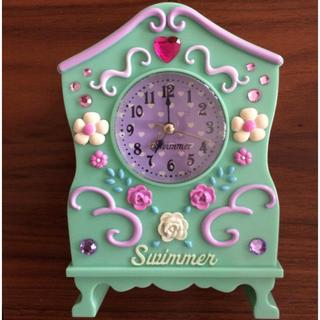 スイマー(SWIMMER)のSwimmer  めざまし時計(置時計)