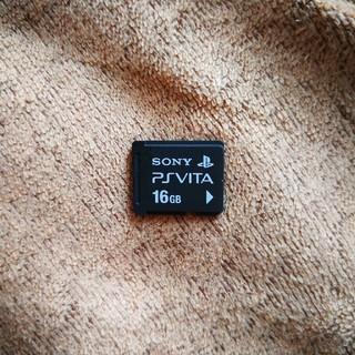 プレイステーションヴィータ(PlayStation Vita)のPS vita メモリーカード 16GB(その他)