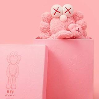 メディコムトイ(MEDICOM TOY)のkaws BFF  flash pink (ぬいぐるみ)