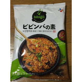 コストコ(コストコ)のチェリーさま専用コストコ ビビンバの素 2人前x3袋セット bibigo (レトルト食品)