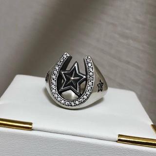 ブレス(BLESS)の19号 ホースシュー ジルコニア シルバー925リング BLESS購入品(リング(指輪))