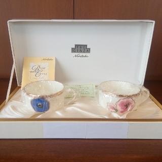 ノリタケ(Noritake)のノリタケ The Ginza (廃盤) ティー碗皿ペアセット 新品②(グラス/カップ)