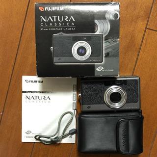 フジフイルム(富士フイルム)のナチュラクラシカ Natura classica 箱 ケース付(フィルムカメラ)