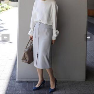 ノーブル(Noble)の《はなきぃ様専用》Noble ダブルクロスフープジップタイトスカート(ロングスカート)